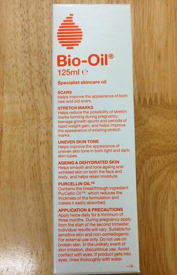 Tinh dầu Bio Oil 125 ml của Úc trị rạn da, cải thiện sẹo