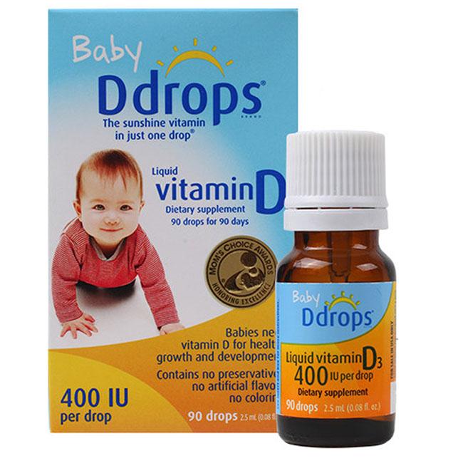 [TỔNG HỢP]    Các loại vitamin D3 tốt cho trẻ sơ sinh mẹ nên chọn 5