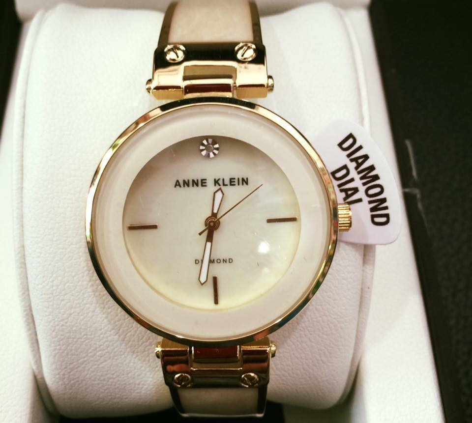 Đồng hồ Anne Klein AK/2512IVGB Mother of Pearl Dial 1