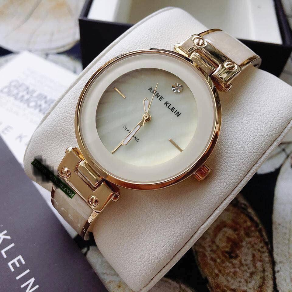 Đồng hồ Anne Klein AK/2512IVGB Mother of Pearl Dial 2