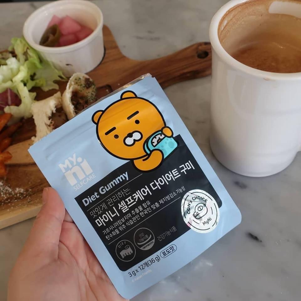 Kẹo dẻo giảm cân Myni Selfcare Diet Gummy Hàn Quốc 1