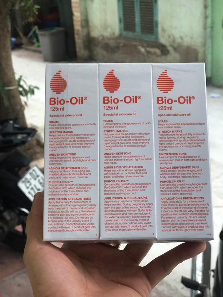 Tinh dầu Bio Oil 125ml của Úc trị rạn da, làm mờ sẹo