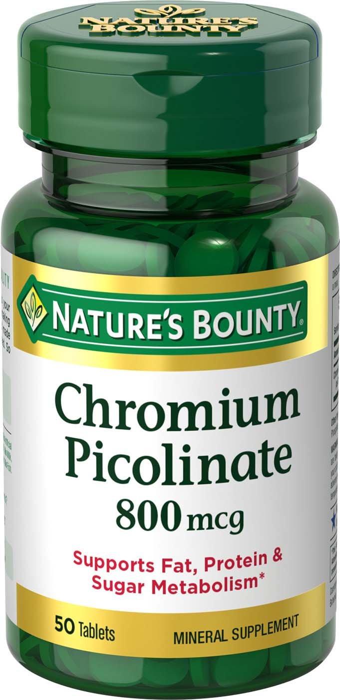 Viên uống Chromium Picolinate 800mcg chính hãng từ Mỹ 1