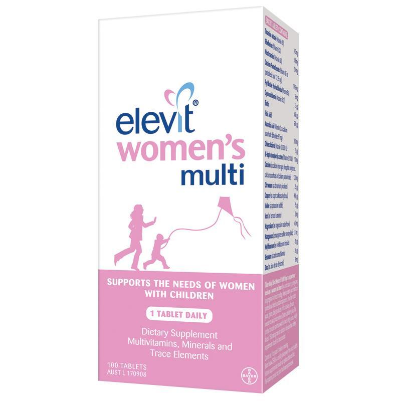Elevit Women's Multi - Vitamin tổng hợp cho phụ nữ đang nuôi con 1