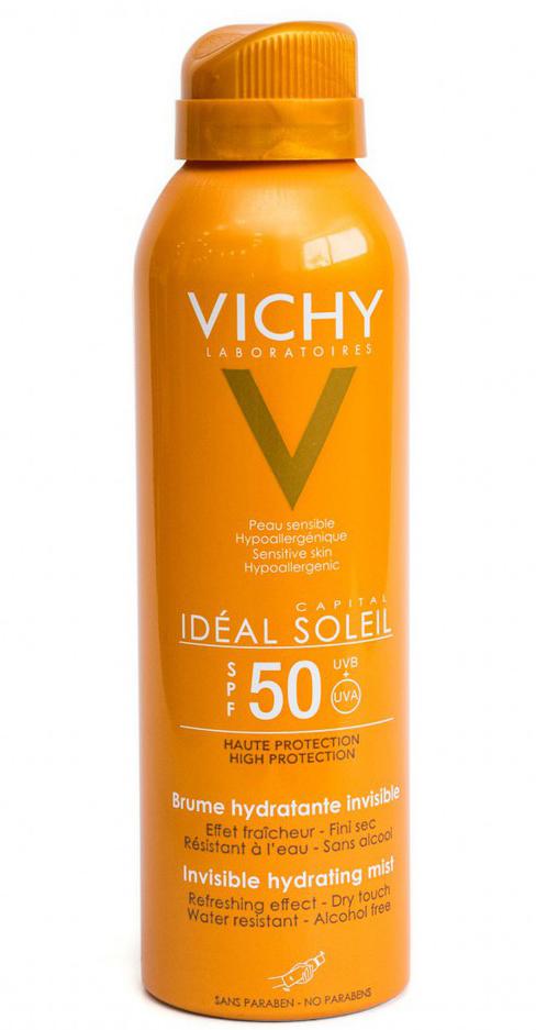 Xịt chống nắng toàn thân Vichy Ideal Soleil SPF50 1
