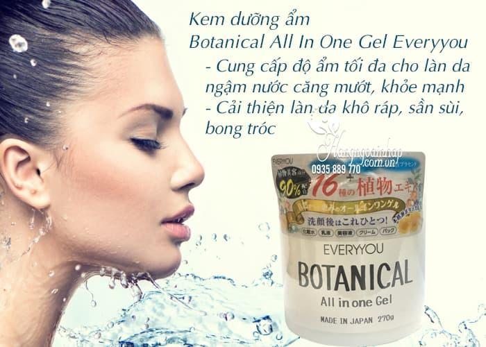 Kem botanical all in one gel cải thiện làn da thô ráp 2