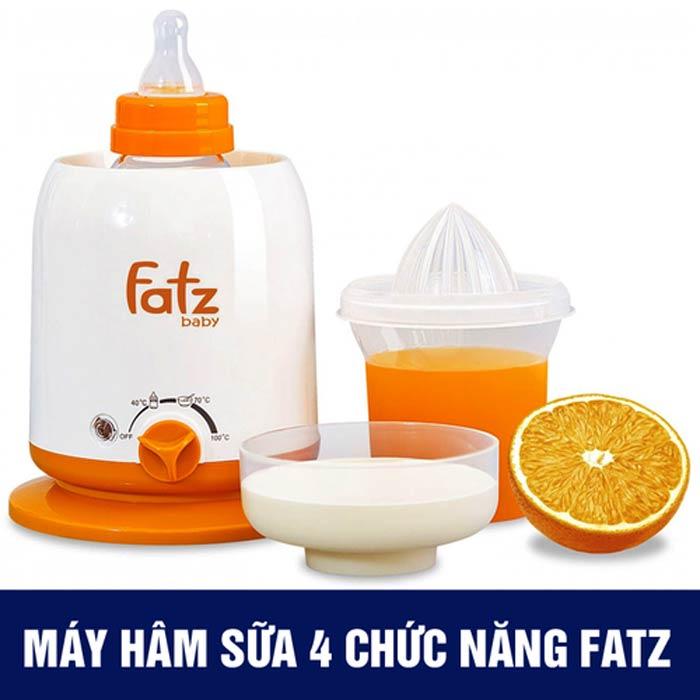 Máy hâm sữa 4 chức năng fatzbaby FB3002SL giá tốt