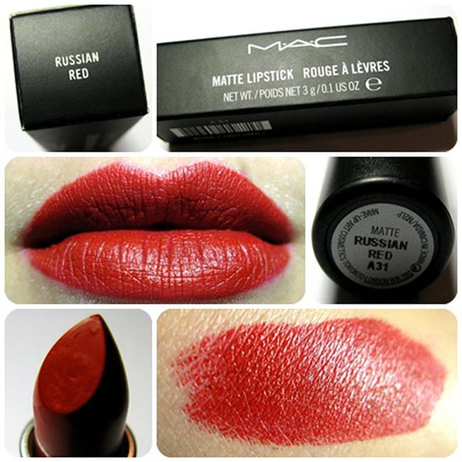 Mac Russian Red (son Mac đỏ đất)