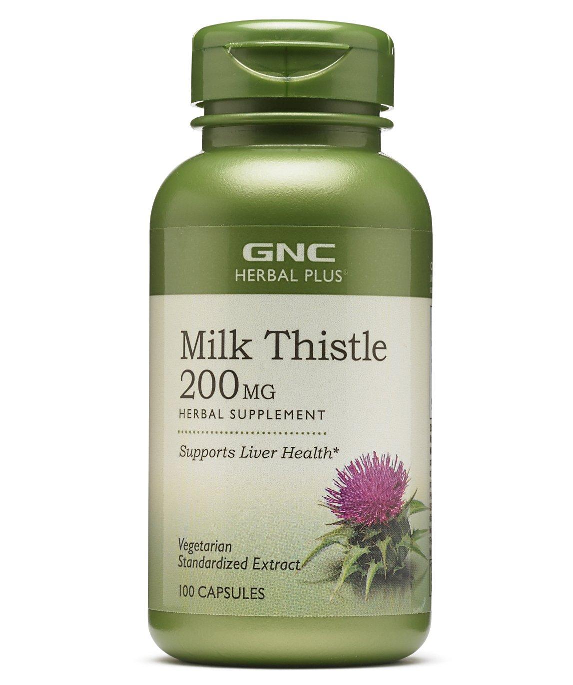 Viên uống GNC Milk Thistle 200mg của Mỹ 1