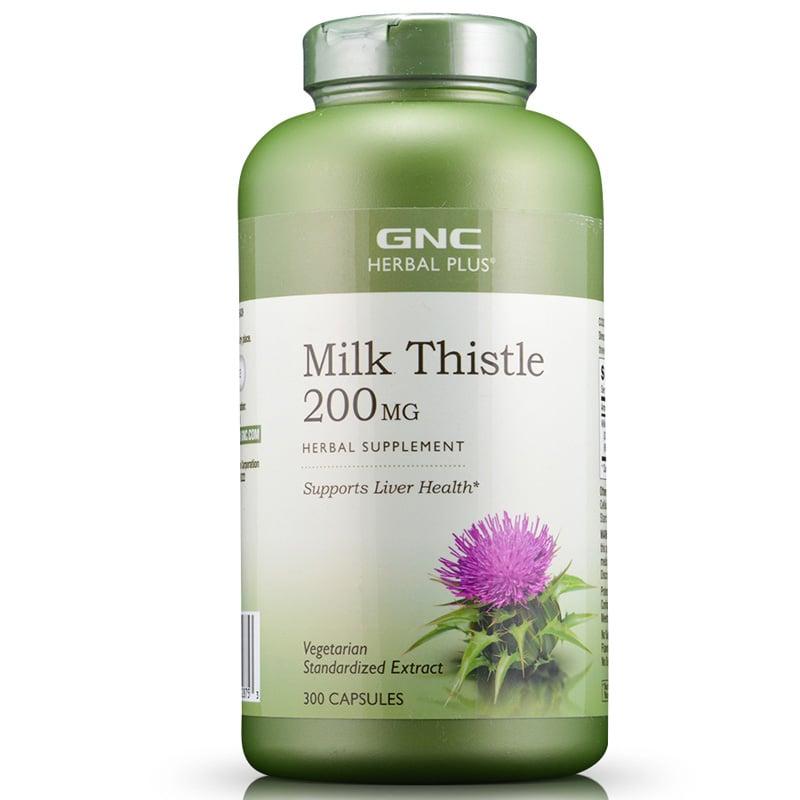 Viên uống GNC Milk Thistle 200mg của Mỹ 2