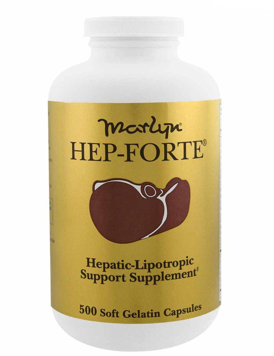 Viên uống Hep - Forte Marlyn hỗ trợ cải thiện chức năng gan 1