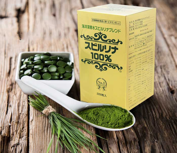 Đánh giá tảo xoắn Spirulina Nhật Bản 2200 viên uống