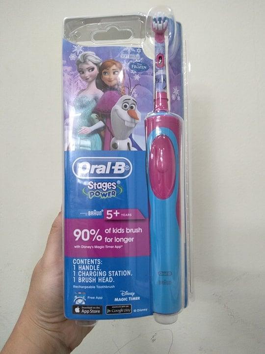 Bàn chải điện Oral-B Stages Power Princess