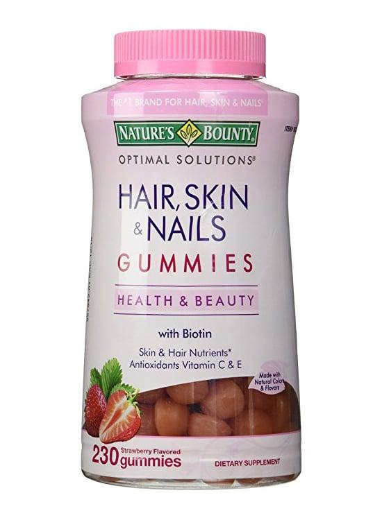 Kẹo dẻo hỗ trợ đẹp da tóc móng Hair Skin Nails Gummies mẫu cũ