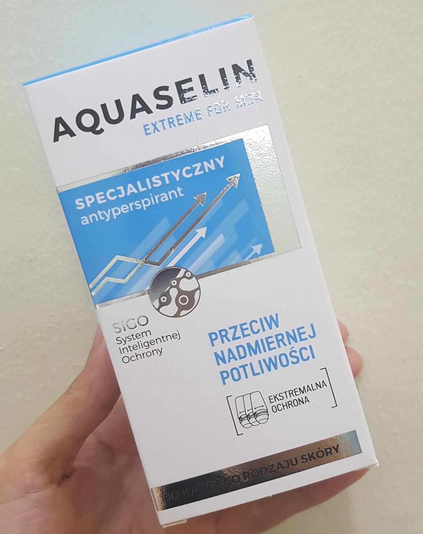 Lăn khử mùi Aquaselin cho nam mẫu mới