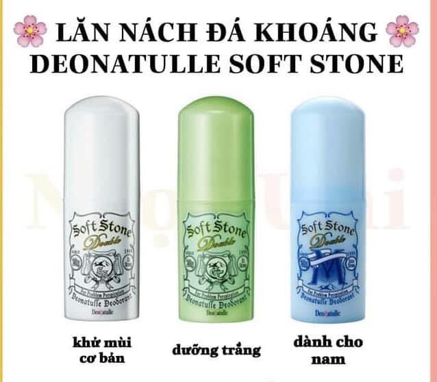 lăn khử mùi đá khoáng Soft Stone