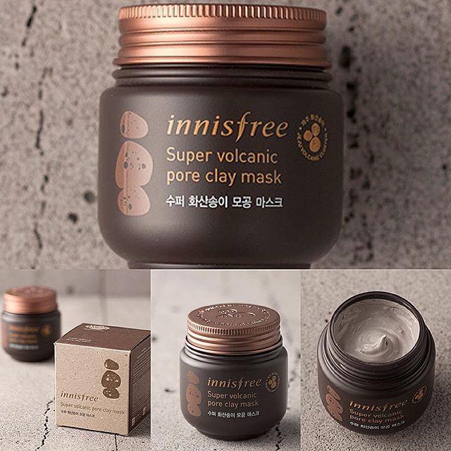 Mặt nạ đất sét Innisfree của Hàn Quốc mẫu cũ