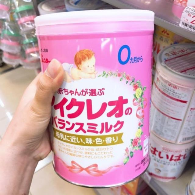 Sữa Glico số 0 Icreo 800g chính hãng