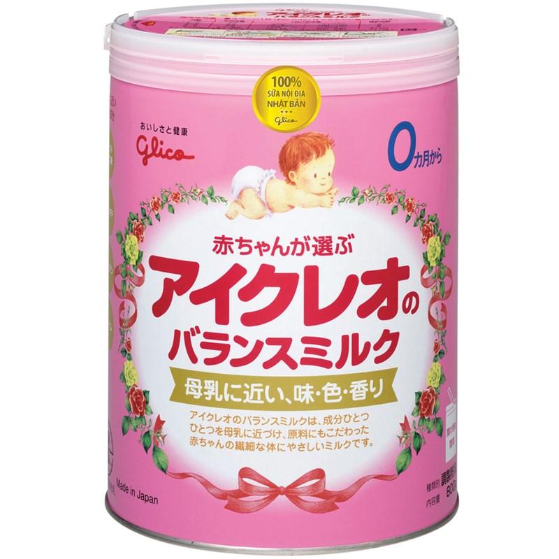 Sữa Glico Icreo 800g cho trẻ từ 0 - 12 tháng - mát như sữa mẹ