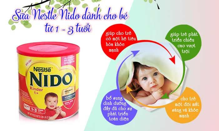 Sữa Nido nắp đỏ