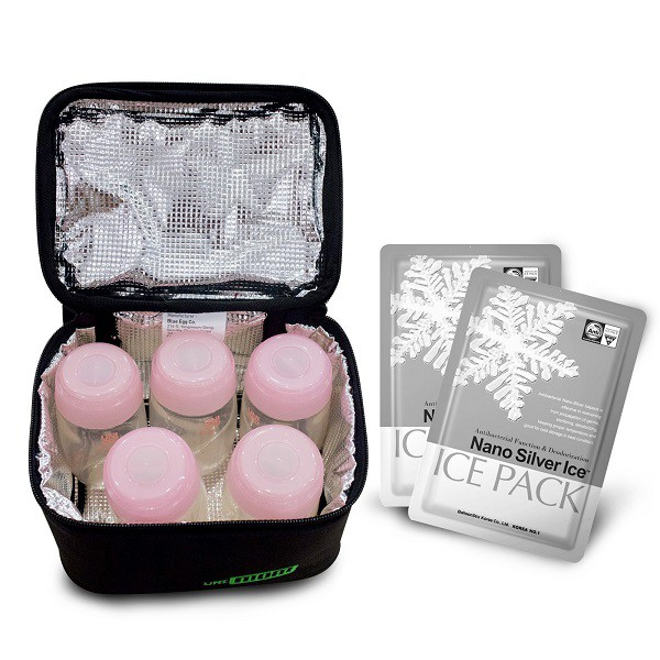 Túi giữ nhiệt bình sữa Unimom