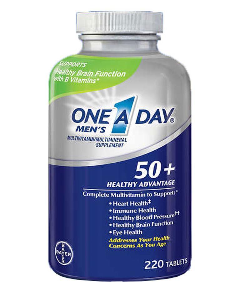One A Day Men's 50+ dành cho nam loại 220 viên