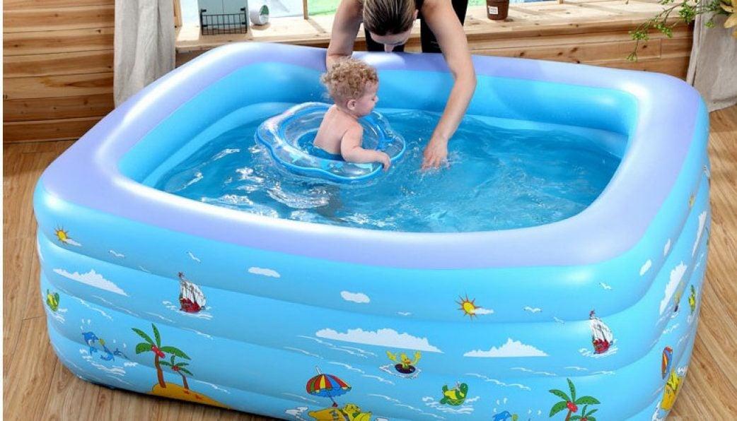 Bể phao bơi cho bé chính hãng