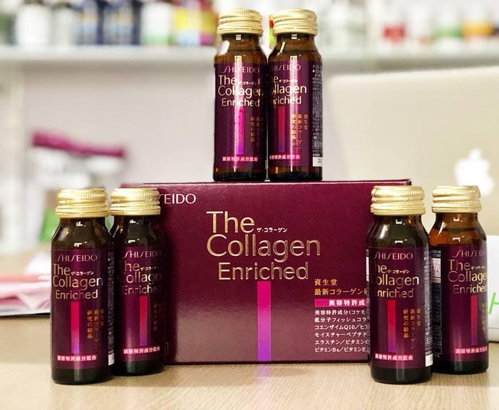 Collagen Shiseido Enriched dạng nước chính hãng