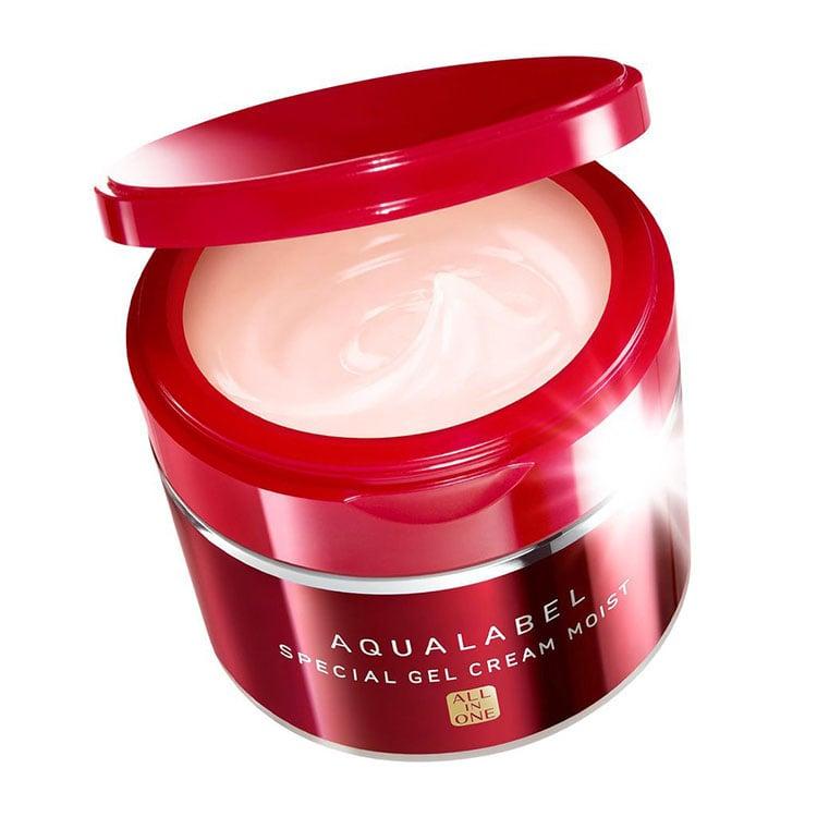 Công dụng kem dưỡng daShiseido Aqualabel đỏ