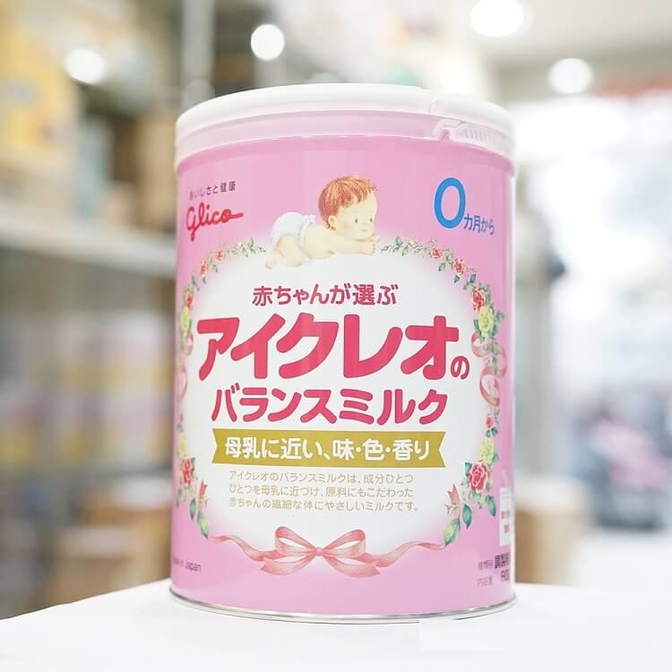 công dụng của sữa glico số 0 cho trẻ 0-12 tháng tuổi