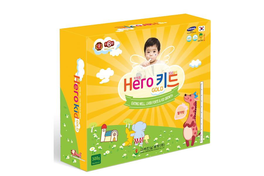 Hero Kid Gold cải thiện biếng ăn cho trẻ