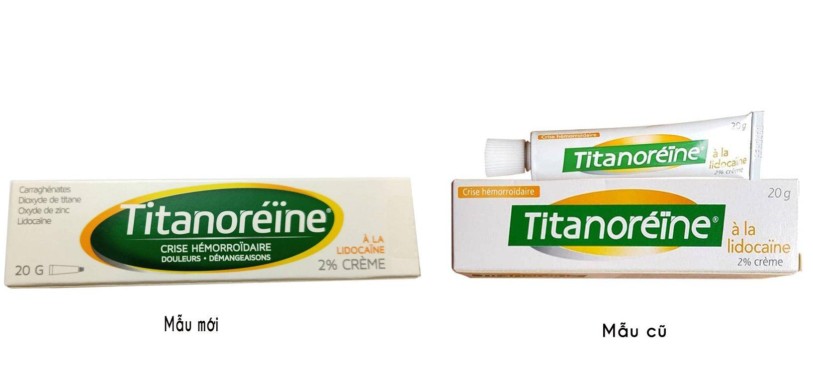 Kem Titanoreine 20g chính hãng từ Pháp