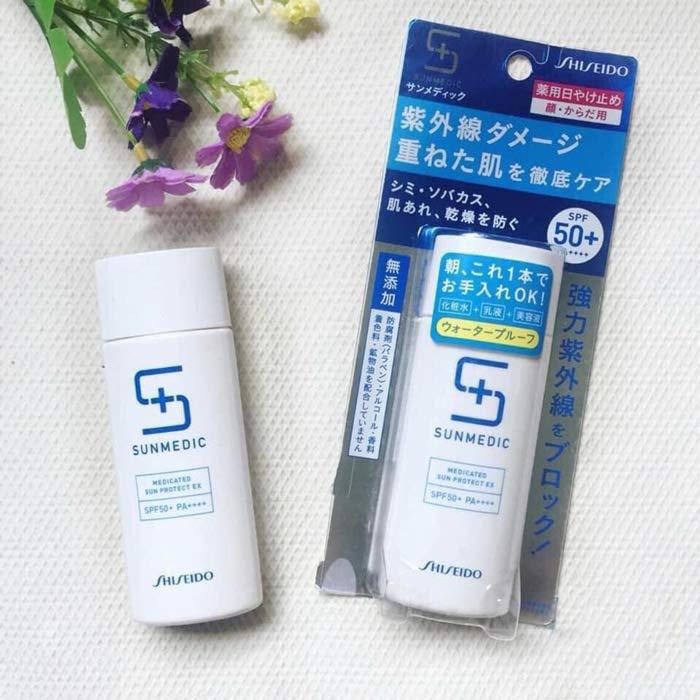 Kem chống nắng Shiseido Sunmedic White Project SPF50+ chính hãng