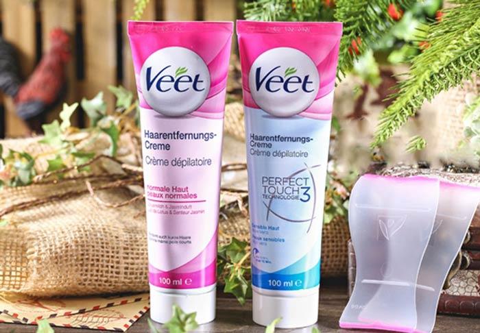 Thông tin Kem tẩy lông Veet của Pháp
