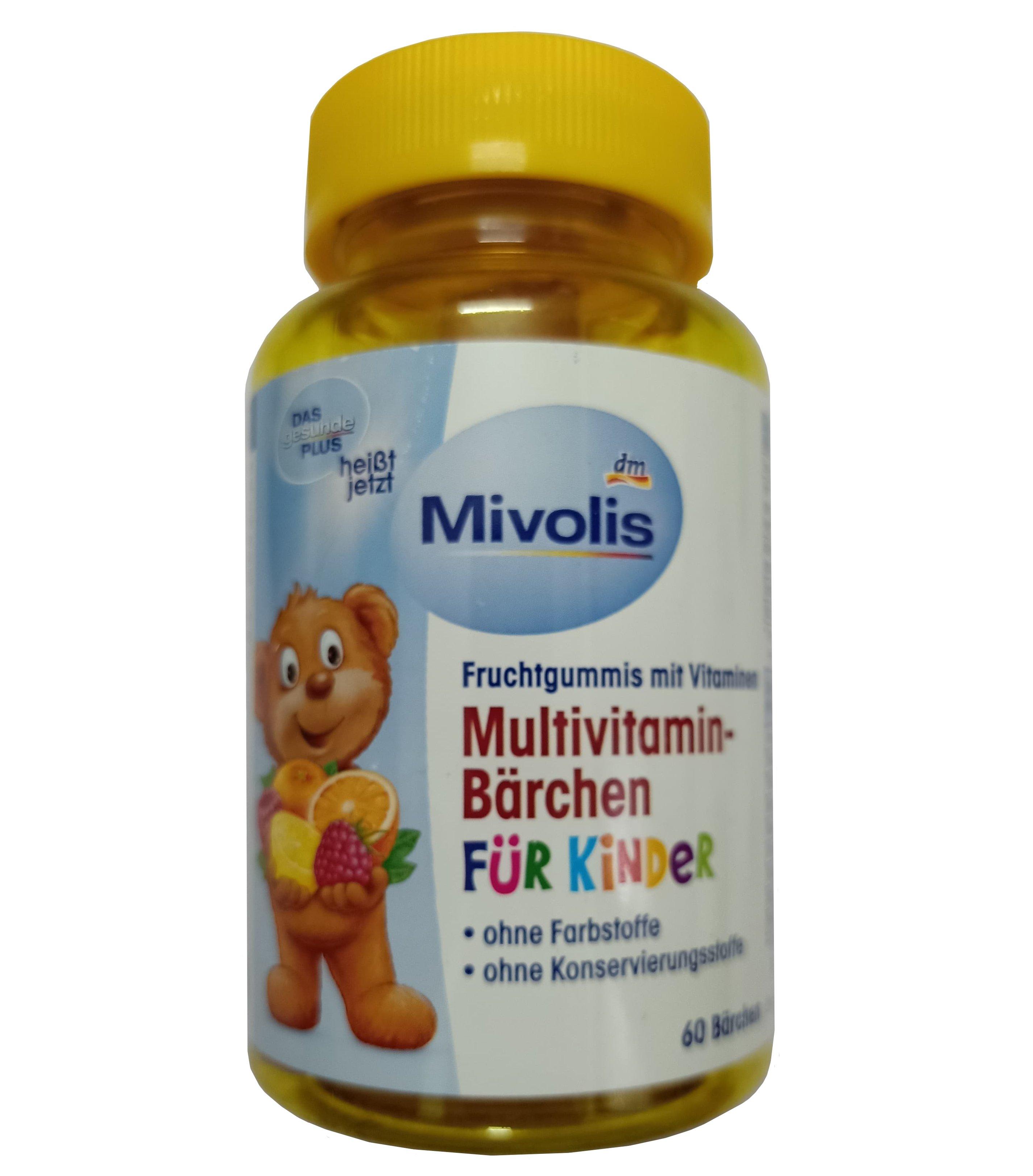 Kẹo Vitamin tổng hợp cho bé Das gesunde Plus của Đức mẫu mới