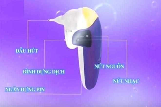 Ưu điểm của máy hút mũi Bayern MunchenBB58