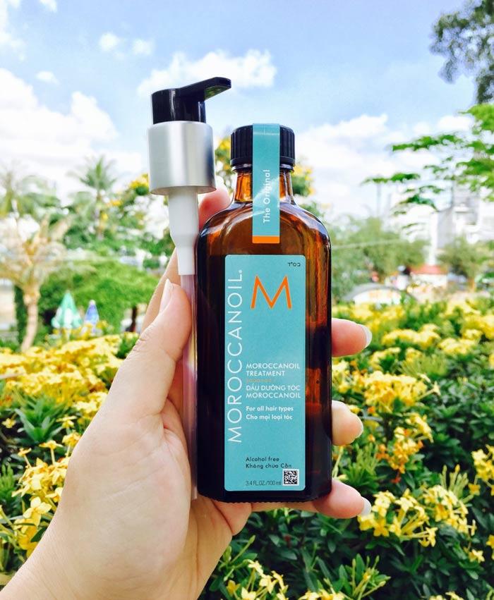Hướng dẫn sử dụng tinh dầu dưỡng tóc Moroccanoil