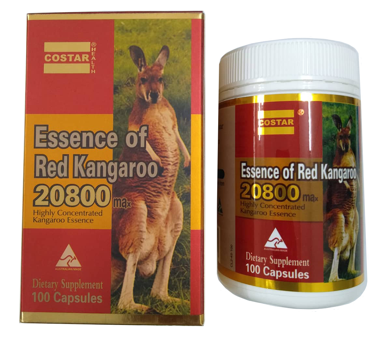Viên uống tăng cường sinh lý nam giới Kangaroo Essence 20800 max - Tráng dương, bổ thận, hỗ trợ tăng cường sinh lý dành cho nam giới