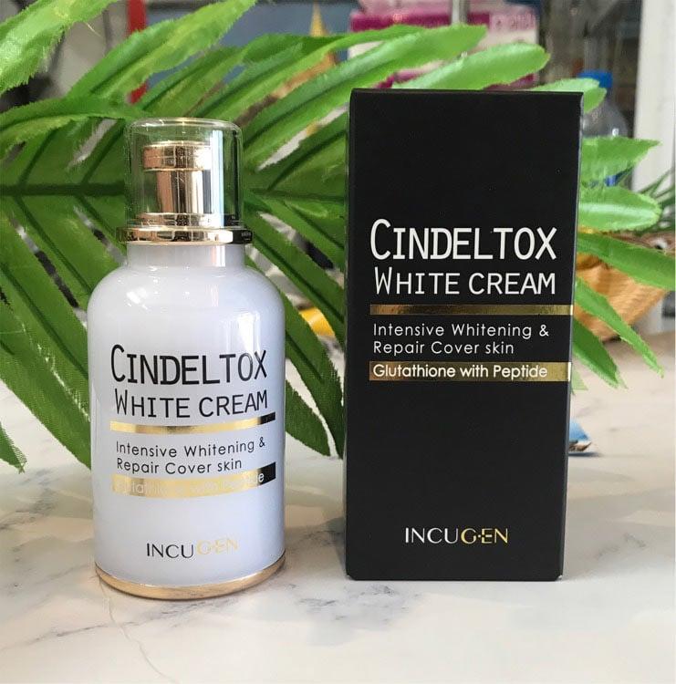 kem dưỡng trắng da Cindel Tox White Cream chính hãng