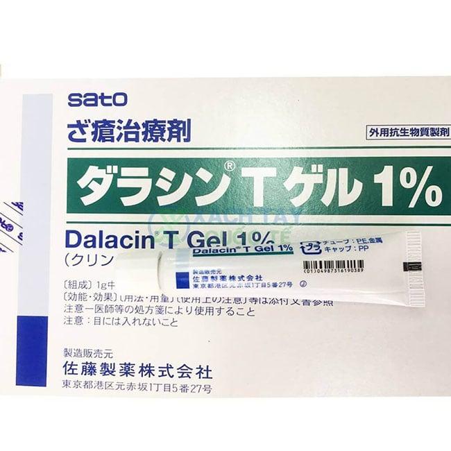 Kem trị mụn hiệu quả giá rẻ Dalacin T Gel