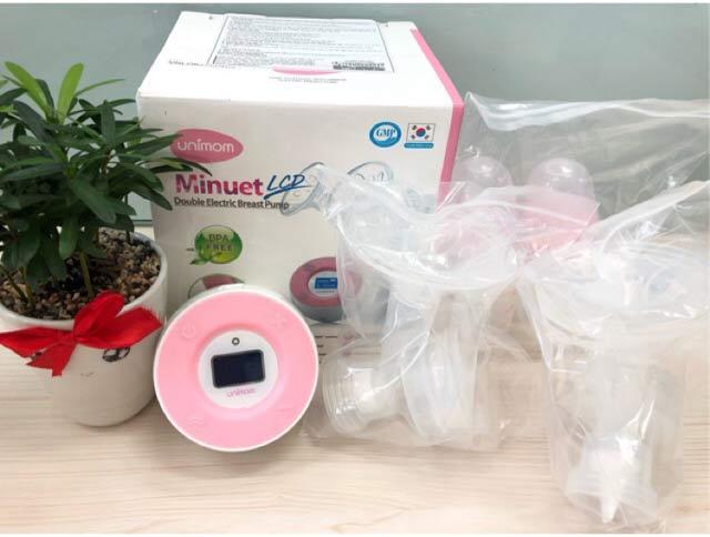 Cách đặt mua máy hút sữa điện đôi Unimom Minuet