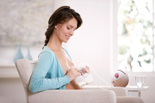 Kinh nghiệm cho mẹ khi dùng máy hút sữa
