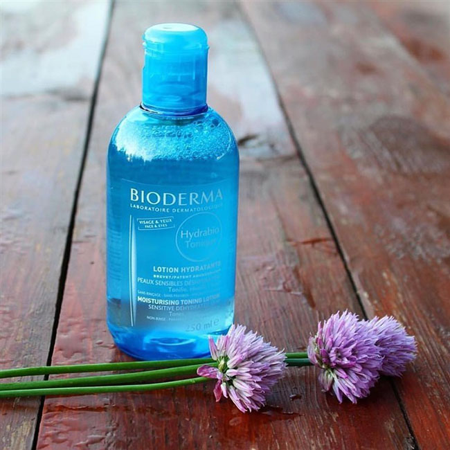 Nước hoa hồng không cồn Bioderma Hydrabio Tonique