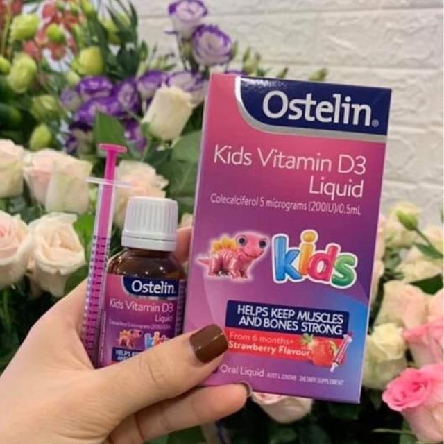 Mua Ostelin Vitamin D Liquid Kids chính hãng ở đâu?