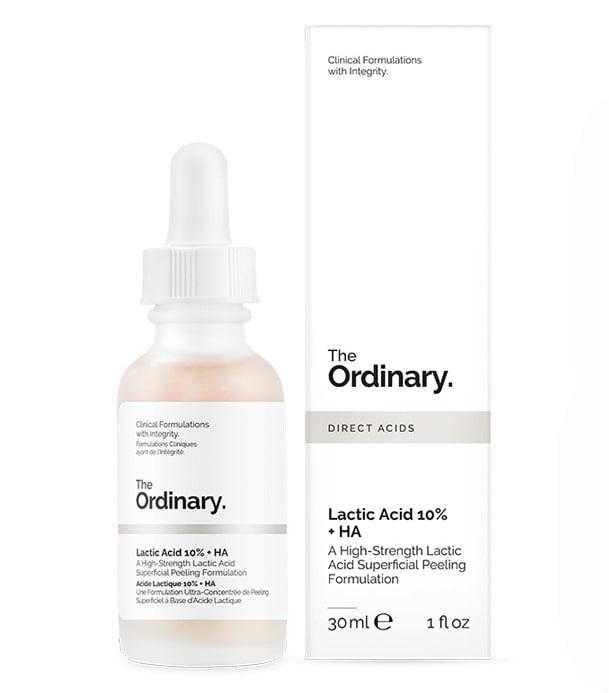 Serum The Ordinary Lactic Acid 10 % có tốt không?
