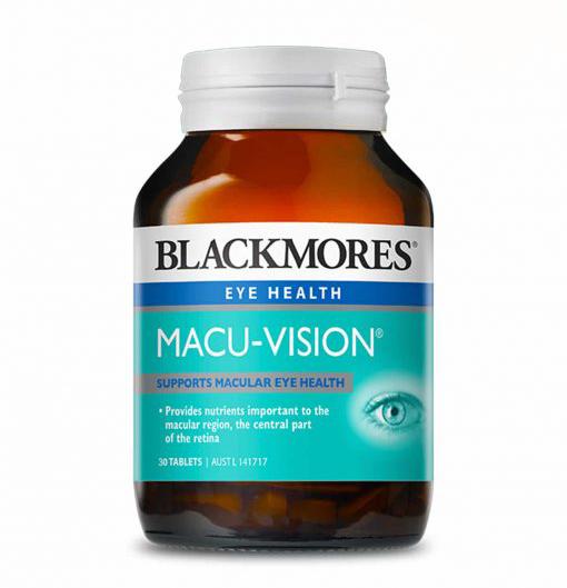 Viên uống Blackmores Macu- Vision loại 30 viên