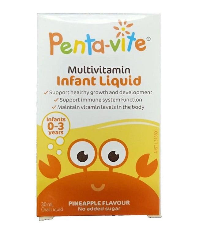 vitamin tổng hợp cho bé biếng ăn Pentavite