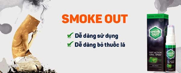 mua xịt Smoke Out ở đâu?