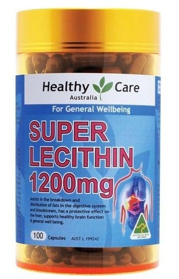 Lecithin Healthy Care 1200mg của Úc