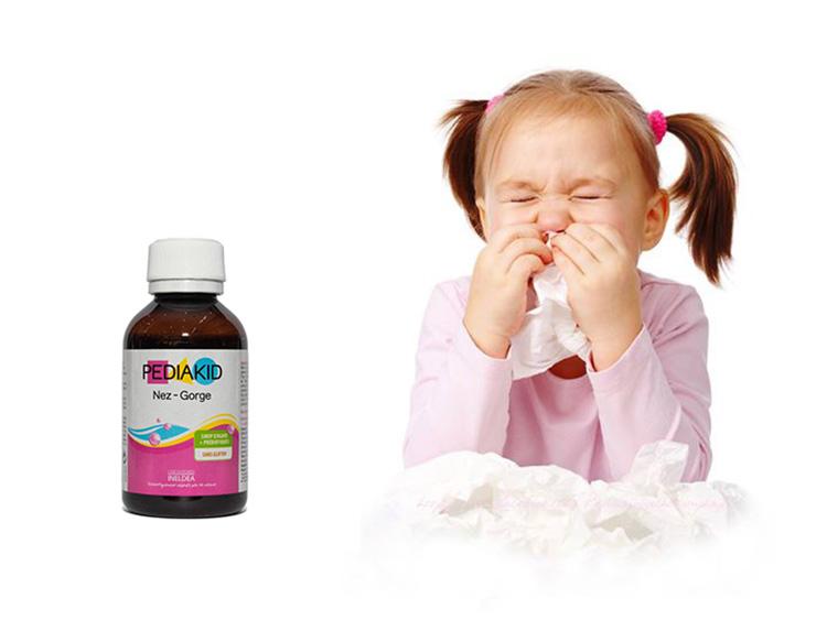 PediaKid tăng đề kháng mũi họng có tốt không?